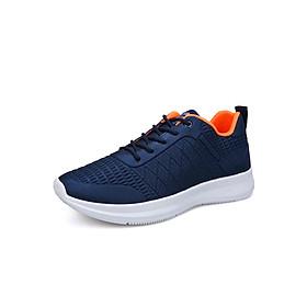 Giày Thể Thao Nam Vải Nhẹ Thoáng Khí 3Fashion - MSP 3126 - Xanh Đen