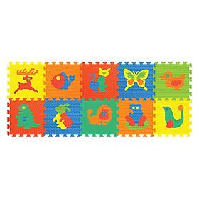 Thảm Ghép Hình Động Vật 10 Miếng Pamama P0302 (62 x 35 cm)