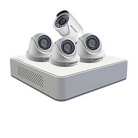 Bộ KIT 4 camera chính hãng Hikvision  HD720P