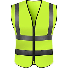 Professional High-quality Fashion Outdoor Hiking Camping Fishing High Visibility Safety Reflective Vest Jacket