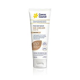 Kem chống nắng Cancer Council - BB Cream 3 trong 1 SPF50+/PA++++ 50ml