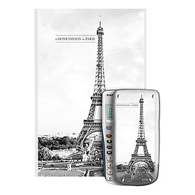 Decal Trang Trí Máy Tính Casio/Vinacal Phong Cảnh Paris PPR-010