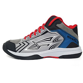 Giày Bóng chuyền chuyên dụng Beyono SkyDream chính hãng, đế kép, da PU, siêu nhẹ màu xám