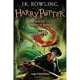 Harry Potter Part 2: Harry Potter And The Chamber Of Secrets (Hardback) Large Print Edition (Harry Potter và Phòng chứa bí mật) (English Book)