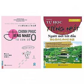 Combo Tự Học Tiếng Nhật Dành Cho Người Mới Bắt Đầu Và Chinh Phục Tiếng Nhật Từ Con Số 0 (Học Kèm App MCBooks) (Tặng Video Dạy Đọc Và Viết Bảng Chữ Cái Hiragana và Katakana) (Tặng Thêm Decan Đo Chiều Cao Cho Trẻ)