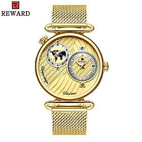REWARD Men Sport Watches Waterproof Outdoor Wristwatch Men's Quartz Military Army Watch Dual Display for Men