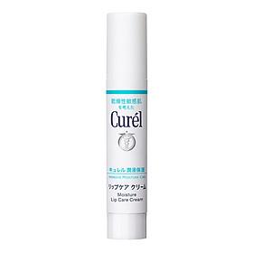 Son Dưỡng Môi Cấp Ẩm Chuyên Sâu Curel Intensive Moisture Care Moisture Lip Care Cream 4.2g (Không Màu)