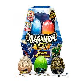 Combo 3 trứng rồng siêu hạng Dragamonz SPIN MASTER 6045621