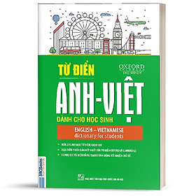 Sách - Từ điển Anh-Anh-Việt dành cho học sinh (Tái bản 2020) - MCBooks