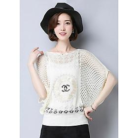 Áo len lưới xinh xắn