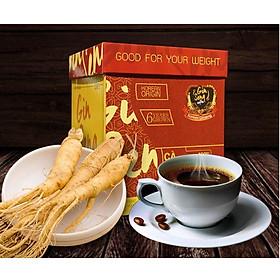 Cà phê Sâm hỗ trợ giảm cân (1 Hộp / 30 gói)