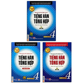 Sách - Tiếng Hàn Tổng Hợp Dành Cho Người Việt Nam - Trung Cấp 4 Phiên Bản Mới (3 quyển lẻ tùy chọn)