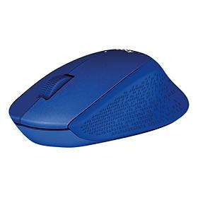 Chuột không dây LOGITECH M331 Blue Cổng USB - Hàng chính hãng