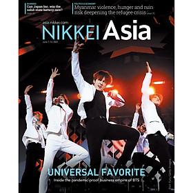 Nikkei Asian Review: Nikkei Asia - 2021: UNIVERSAL FAVORITE - 23.21 tạp chí kinh tế nước ngoài, nhập khẩu từ Singapore