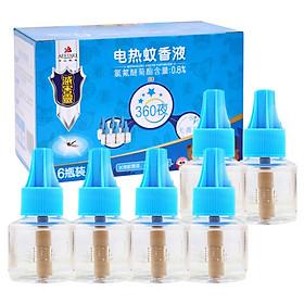 Dung Dịch Đuổi Muỗi Không Mùi Hương (6 Chai) (45ml)