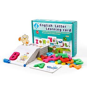 Đồ chơi ghép chữ English Letter Learning Card