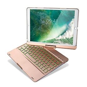 Bàn phím Bluetooth kiêm ốp lưng F360 cho iPad Pro 10.5 xoay 360 độ