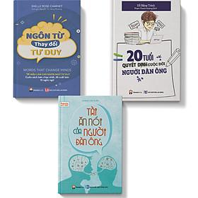 Sách – Combo 3 cuốn Ngôn từ thay đổi tư duy Tài ăn nói của người đàn ông 20 Tuổi quyết định cuộc đời người đàn ông