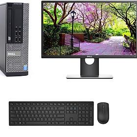 Bộ máy tính Để Bàn Dell Optiplex 9020 (Core i5 - 4570, Ram 4GB, SSD 120GB) Và Màn hình Dell 21.5 inch ( E2216H) Và bàn phím chuột Dell + Bàn Di chuột + Usb wifi - Máy đời mới - Chuyên dùng Làm việc - Học Tập - Giải Trí - Hàng Chính Hãng