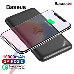 Pin dự phòng kiêm sạc nhanh không dây Baseus S10 Bracket Power Bank 10000mAh - Hàng chính hãng