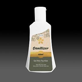 Nước rửa tay khô sát khuẩn dạng Gel hương hoa Nhài thương hiệu Ecocare Việt Nam (chai 100ml)