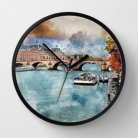 Đồng hồ treo tường dòng sông DH1810.13