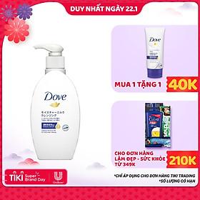 Sữa Tẩy Trang Dove Tinh Chất - Serum Làm Sạch Lớp Trang Điểm Lâu Trôi 195ml
