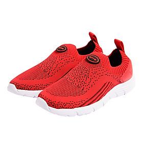 Giày Thể Thao Quai Dệt Bé Gái Biti's - Đỏ - DSG000500DOO