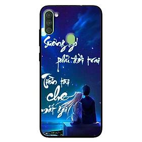 Ốp lưng dành cho Samsung Galaxy A11 mẫu Thư Pháp Sương Gió