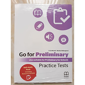 MM PUBLICATIONS: Go For Preliminary Practice Tests ( Self-study Pack Including Resource CD-ROM)
