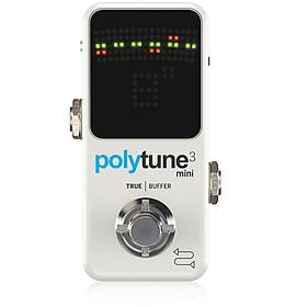 TC Electronic Polytune 3 Mini Polyphonic Tuning Pedal-Hàng Chính Hãng