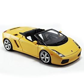 Mô Hình Xe Lamborghini Gallardo Spyder Yellow 1:18 Bburago - MH18-12016