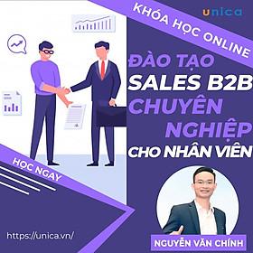 Khóa học SALE BÁN HÀNG- Đào tạo Sale B2B chuyên nghiệp dành cho nhân viên kinh doanh UNICA.VN