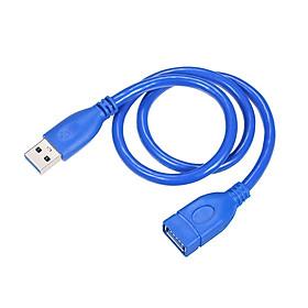 Dây Cáp Siêu Tốc Nối Dài USB Male Sang Female Cho TV Thông Minh PS4 Xbox One SSD Đồng Bộ Hóa Dữ Liệu USB 3.0
