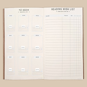 Sổ tay nhật ký đọc sách, nhặt trích, cảm nhận đánh giá