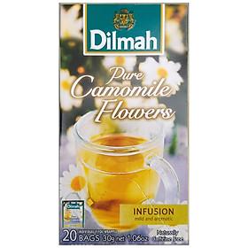 Hình đại diện sản phẩm Trà Dilmah hoa Cúc hộp 20 gói x 1,5 g (gói thiếc)