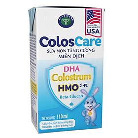 Thùng sữa công thức pha sẵn Nutricare ColosCare (110ml x 48 hộp)- sữa non tăng cường miễn dịch