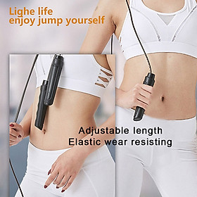 Adult Child Fancy Fitness Workout Adjustable Jump Rope Sports Exercise Cardio-1
