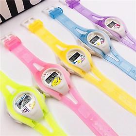Đồng hồ điện tử trẻ em TIME Clue hoạt hình lte1,dây silicon,hiển thị ngày tháng,thiết kế xinh sắn phù hợp cho trẻ.