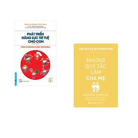 Combo 2 cuốn sách: Phát Triển Năng Lực Trí Tuệ Cho Con - Theo Phương pháp Shichida + Những Quy Tắc Làm Cha Mẹ