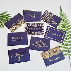 9Pcs/Set Folding Wedding Party Birthday Thank You Cards with Envelopes