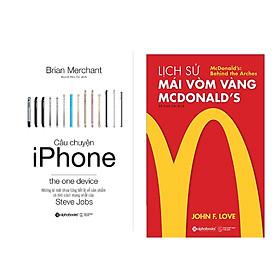 Combo Sách Kĩ Năng Kinh Doanh: Câu Chuyện Iphone + Lịch Sử Mái Vòm Vàng - Mcdonald's
