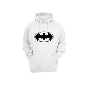 Áo Hoodie Tay Dài Có Mũ Bat Man