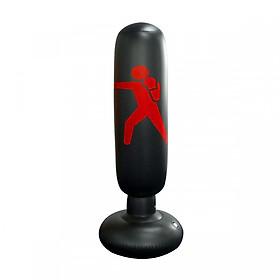 Bao trụ đấm bốc 2.0 PRO X tự cân bằng PVC, bao tập võ Boxing