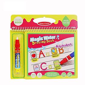 Sách tô màu bút nước thần kỳ size vừa Toys House tặng xe trượt đà cho bé VBC-123-6 (ngẫu nhiên)