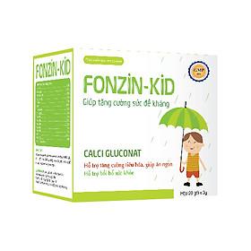 Fonzinkid (gói): Tăng cường sức đề kháng, tăng khả năng miễn dịch