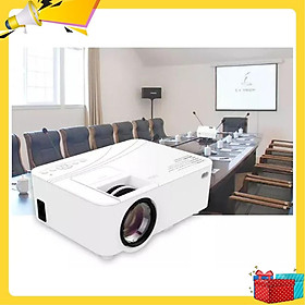 máy chiếu mini, máy chiếu giá rẻ, xem phim tại nhà, hình ảnh sắc nét full HD-Hàng nhập khẩu cao cấp chính hãng