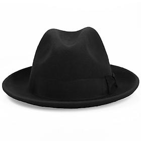 Mũ phớt nam len lông cừu phong cách châu Âu MP008 - 3 Màu sang trọng - Tặng kèm đế giữ form mũ
