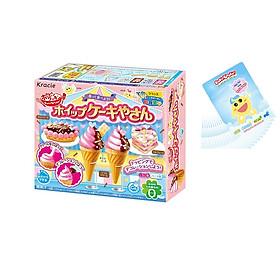 Kẹo sáng tạo thế giới kem Chocolate Whip Cake Ya San - Tặng bộ thẻ học tiếng anh (25 thẻ)
