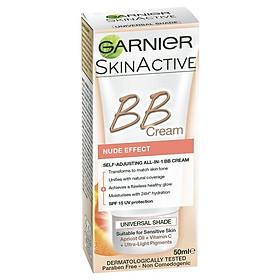 Garnier SkinActive BB Cream Nude Self-Adjusting 50ml